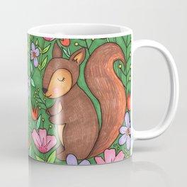 Spring Squirrel Coffee Mug