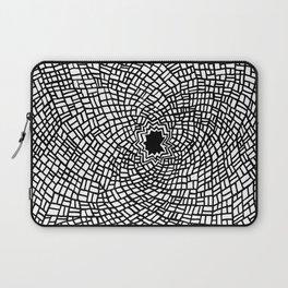 Cracked Glass Laptop Sleeve