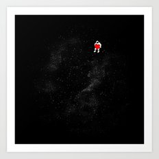 Love Space Art Print