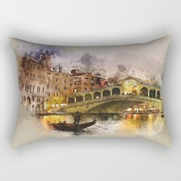 Venezia, Canal Grande Rectangular Pillow