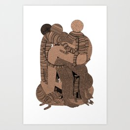 Big Bent Art Print
