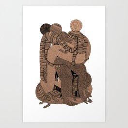 Big Bent Art Print