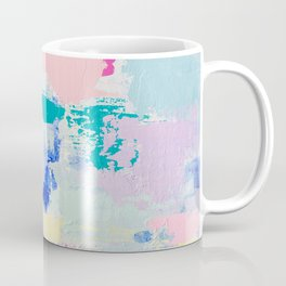 MAVEN // ABSTRACT MIXED MEDIA ON CANVAS Coffee Mug