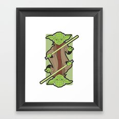 Yoda Framed Art Print