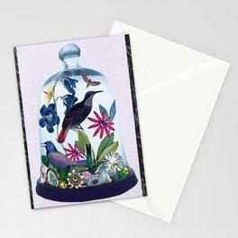 Blue Bird Bell Jar Stationery Cards