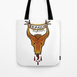 Dragon Slayer Tote Bag
