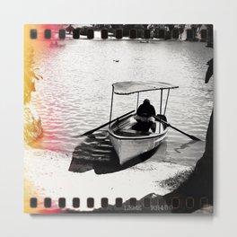 Photography - Boat - Paracas - Peru Metal Print