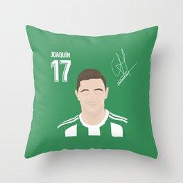 Joaquin - Real Betis Throw Pillow