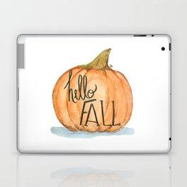 Hello fall pumpkin Laptop & iPad Skin