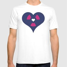 Loveactive White MEDIUM Mens Fitted Tee