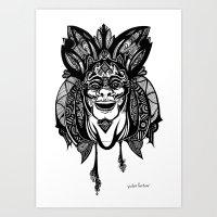 Voodoo Brother Art Print