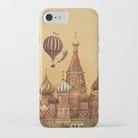 depeche mode iPhone & iPod Cases featuring Trip to Moscow by Terry Fan