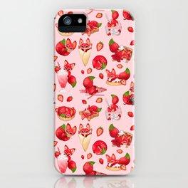Foxberry Treats iPhone Case