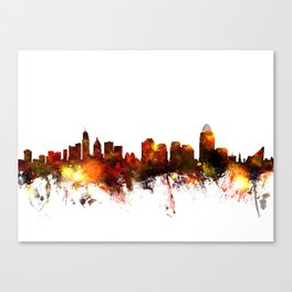 Cincinnati Ohio Skyline Canvas Print