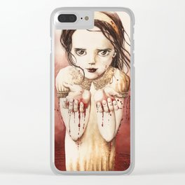 RED RIVER Clear iPhone Case
