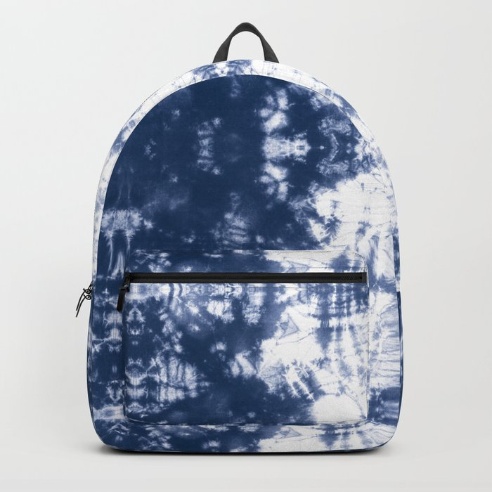 Shibori 6 Indigo Blue Backpack