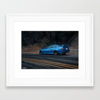 bmw Framed Art Prints featuring BMW M3 by 1013MM