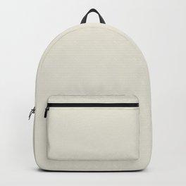 Tofu beige white Pantone fashion color trend autumn fall Backpack