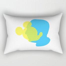 Mickey&Walt Rectangular Pillow