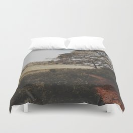 Into the field  Duvet Cover