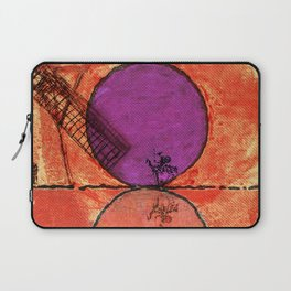 Don Quixote and the backlands of Brazil Laptop Sleeve