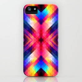 PSYCHO GEOMETRY iPhone Case