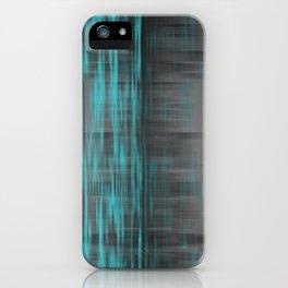 Blue Lights, Big City iPhone Case