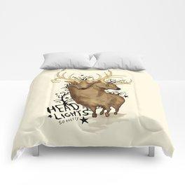 Disoriented Deer Comforters