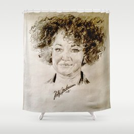 Rachel Dolezal Shower Curtain