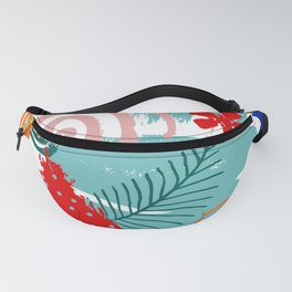 Spring Festival, Botanical, Floral Abstract Fanny Pack