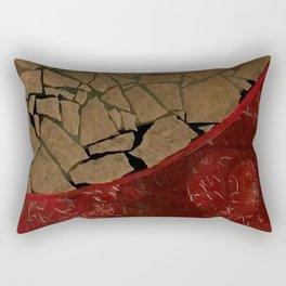 quarter earth Rectangular Pillow