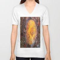 lunar V-neck T-shirts featuring Lunar  by Evan Hawley