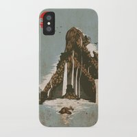 castle iPhone & iPod Cases featuring hidden castle by Steven Toang