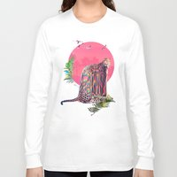 jaguar Long Sleeve T-shirts featuring Jaguar by Ali GULEC