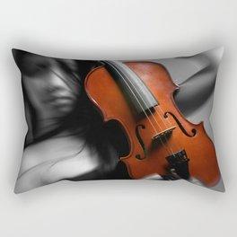 Her Ghost Rectangular Pillow
