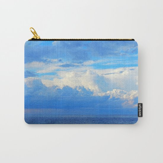 Clouds out at Sea Carry-All Pouch