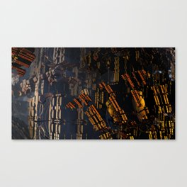 Shattered Fortress Canvas Print