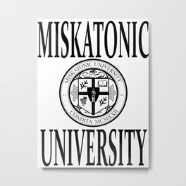 Miskatonic University Metal Print