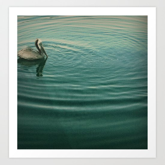 ripple effect Art Print