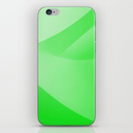 Green Wallpaper iPhone Skin