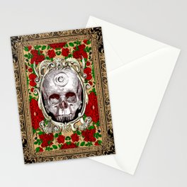 Infinitum - Macabre Gothic Skull Stationery Cards