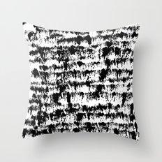 Black Pattern#2 Throw Pillow