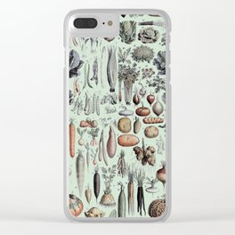 Science Farm Clear iPhone Case