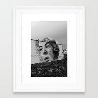 atlanta Framed Art Prints featuring Atlanta by MartiGrasz