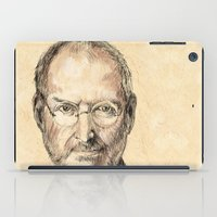 steve mcqueen iPad Cases featuring STEVE by Stan Kwong