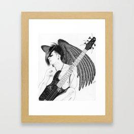 Winged Tomo Framed Art Print