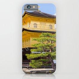 Kyoto Japan Kinkaku-ji Temple Spruce temple Cities Temples iPhone Case