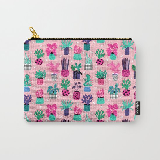 M'kay - southwest cactus desert trendy 90s bright neon 80s style retro classic Carry-All Pouch