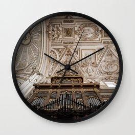 Organ and Ceiling (Cordoba Cathedral) Wall Clock