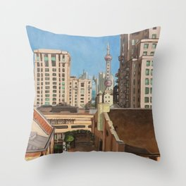Rockbund Bund Throw Pillow